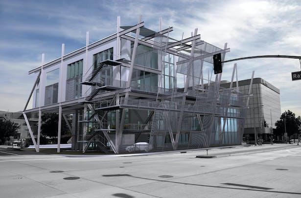 Satellite Autombile Assembly Plant