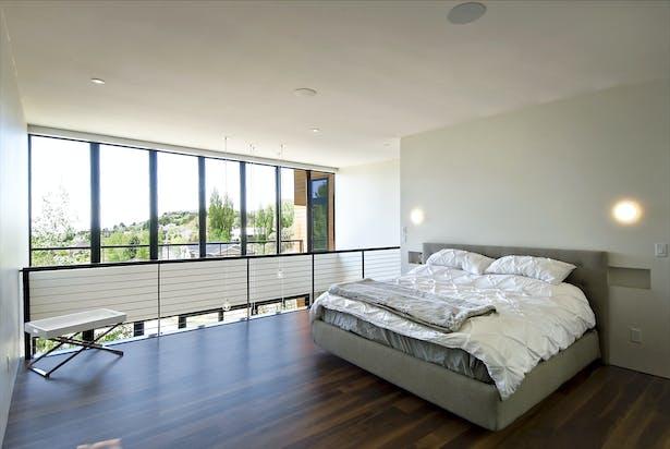 bedroom to double volume