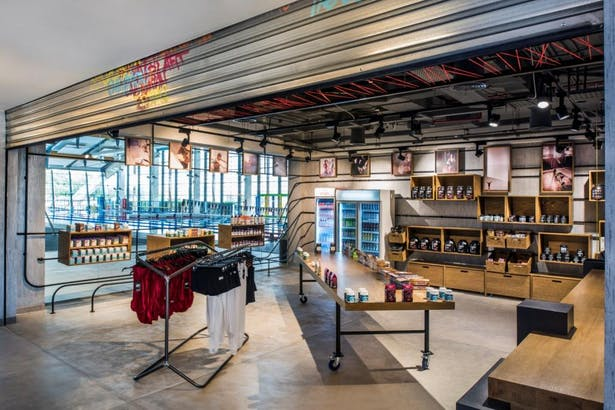 Fit Republik, Dubai, by Aedas Interiors - Shop