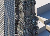 Datamoshing Tower
