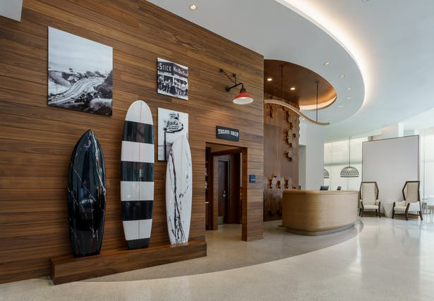 Lobby of Hampton