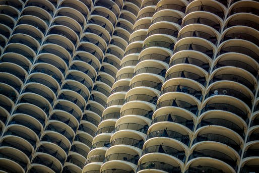 "Bertrand Goldberg's 1959 Chicago Marina City is one of 200 buildings on Illinois' updated Great Places list. Photo: Thomas Hawk/<a href=""https://www.flickr.com/photos/thomashawk/39582563032/"">Flickr</a>."