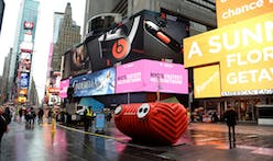 "Jam to your heart's desire with Stereotank's ""Heartbeat"" installation in Times Square"