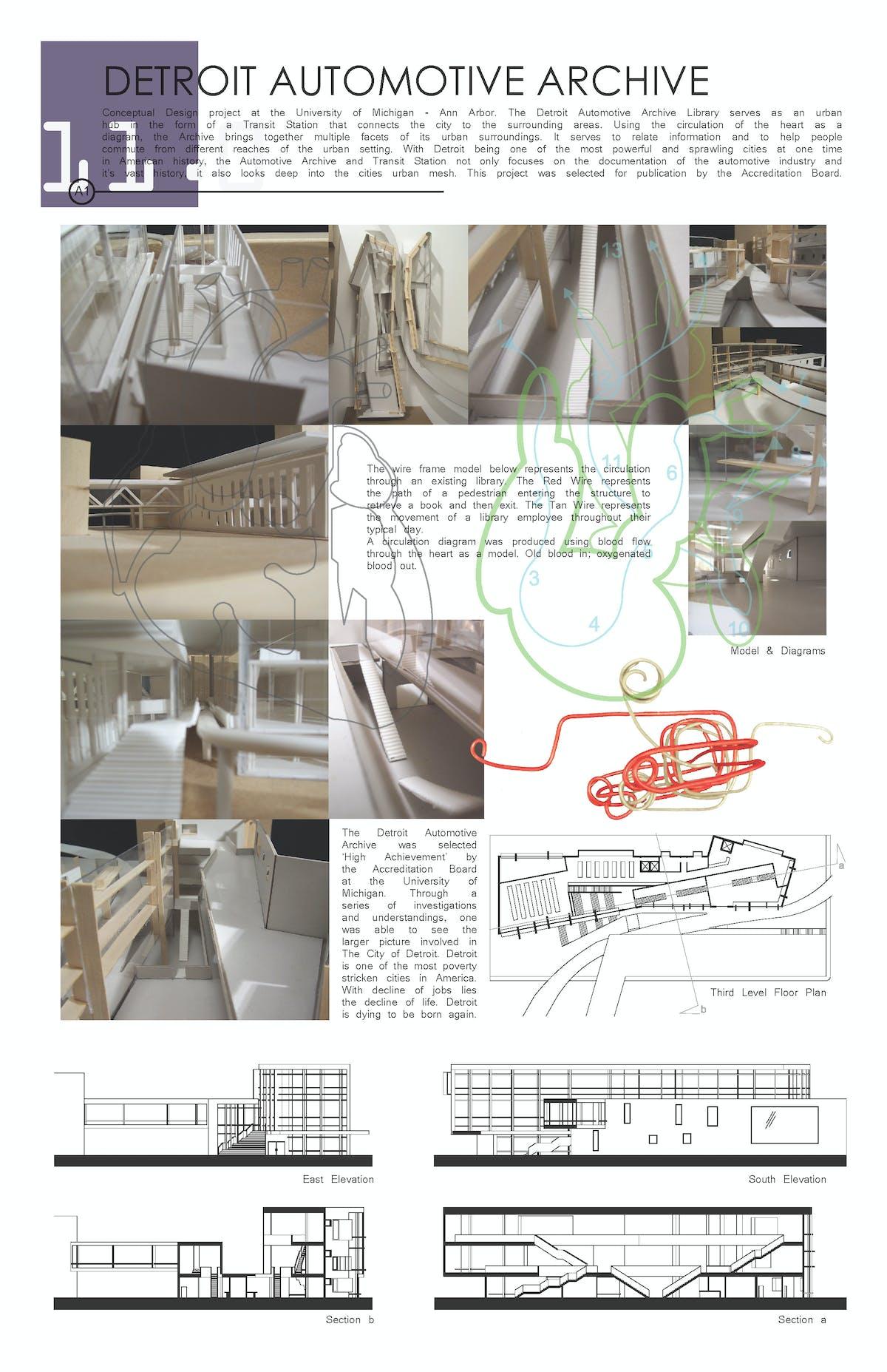 Detroit Automotive Archive Dustin Michael Infante Archinect American Auto Wire Diagrams