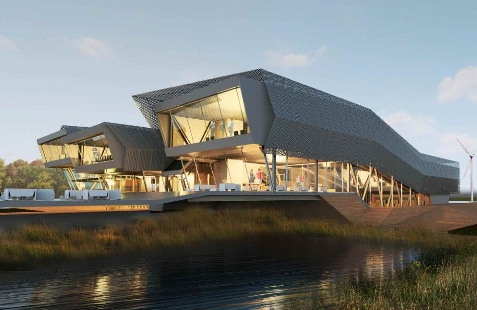Food Innovation Center Pablo Lopez Ampudia Archinect