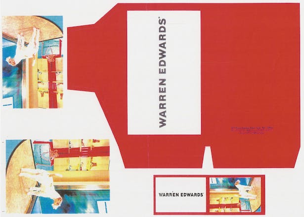 Business Card, Postcard and Shoe Box for Warren Edwards