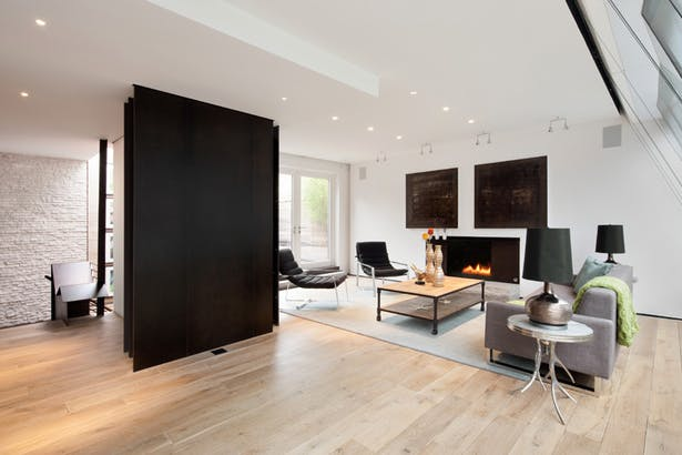Midtown Minimal Living Room. Photo: Evan Joseph