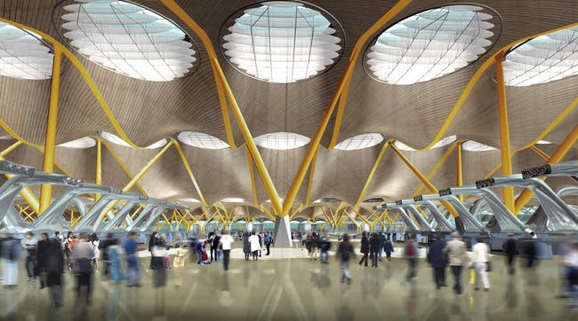 Madrid-Barajas Airport, Madrid, by Richard Rogers