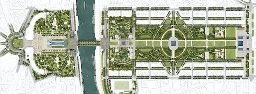 Vision 2030 master plan © GP+B