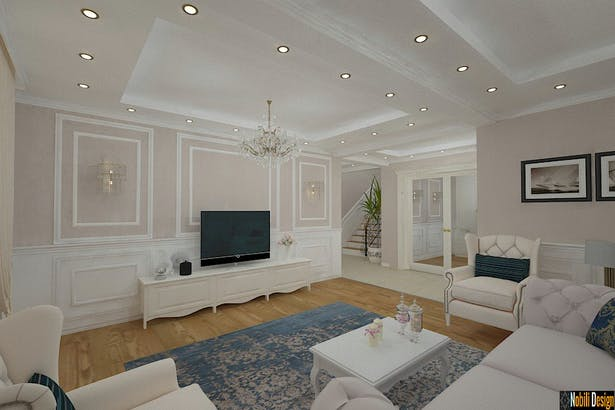 Interior design classic style house