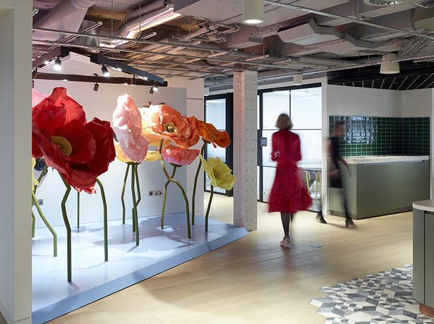 Installations create a sense of relaxed, contemporary working