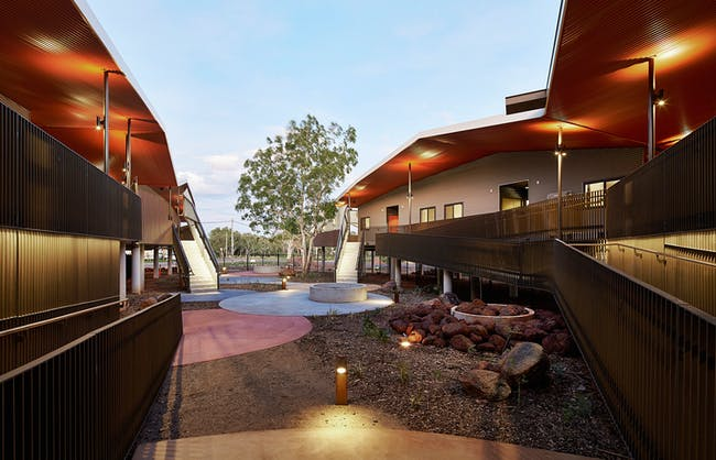 COMPLETED BUILDINGS - Health winner: Walumba Elders Centre | Australia. Designed by Iredale Pedersen Hook Architects.
