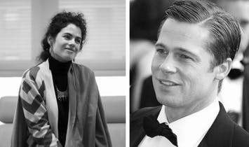 Architecture's Page Six moment: Brad Pitt hangs out with American-Israeli architect and MIT professor Neri Oxman