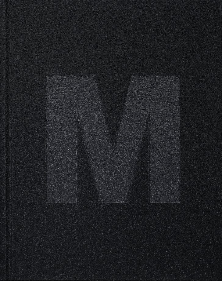 Front cover of 'M.' Image: Morphosis Architects.