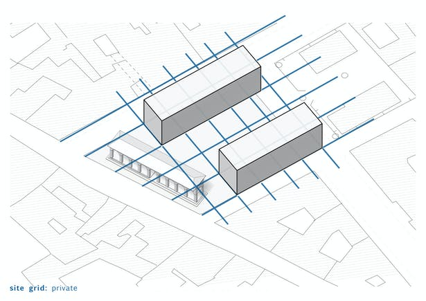 Step 2 Private Grid from surrounding housing context