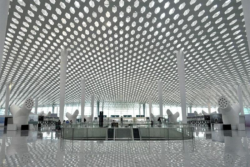 shenzhen airport terminal 3 by studio fuksas opened