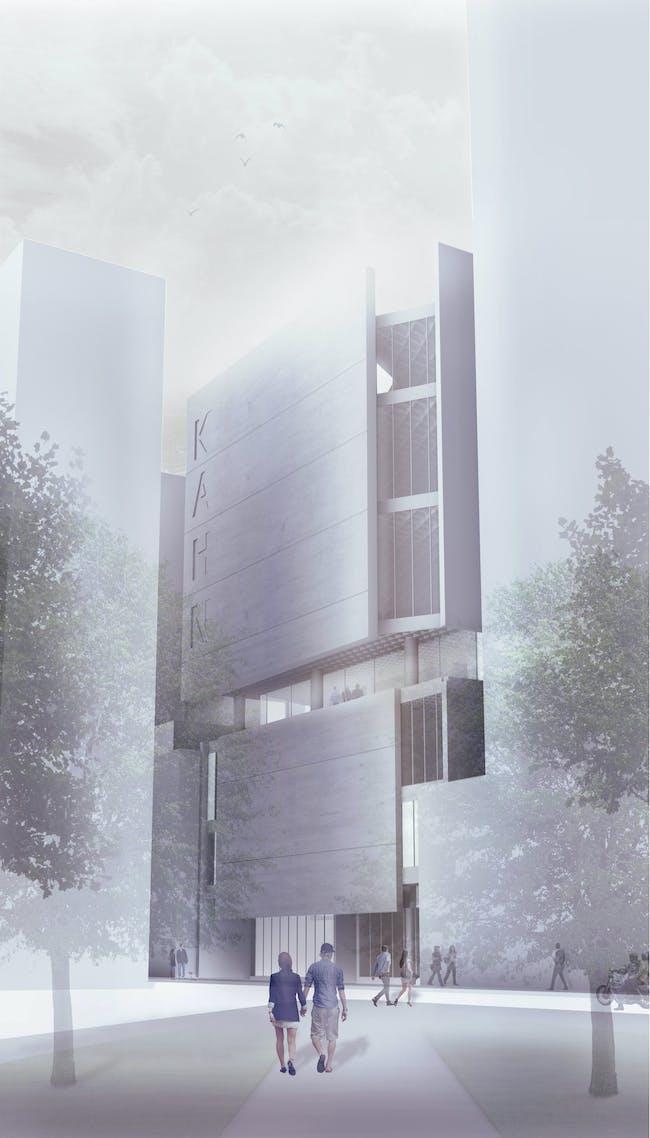 PERCEIVING SENSATION: Louis Kahn Foundation by Matthew Wieber