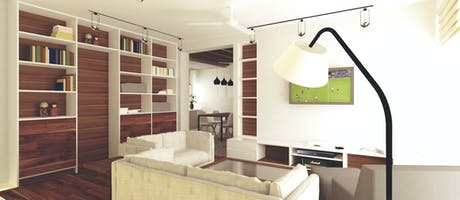 Interior of Tiny Apartment