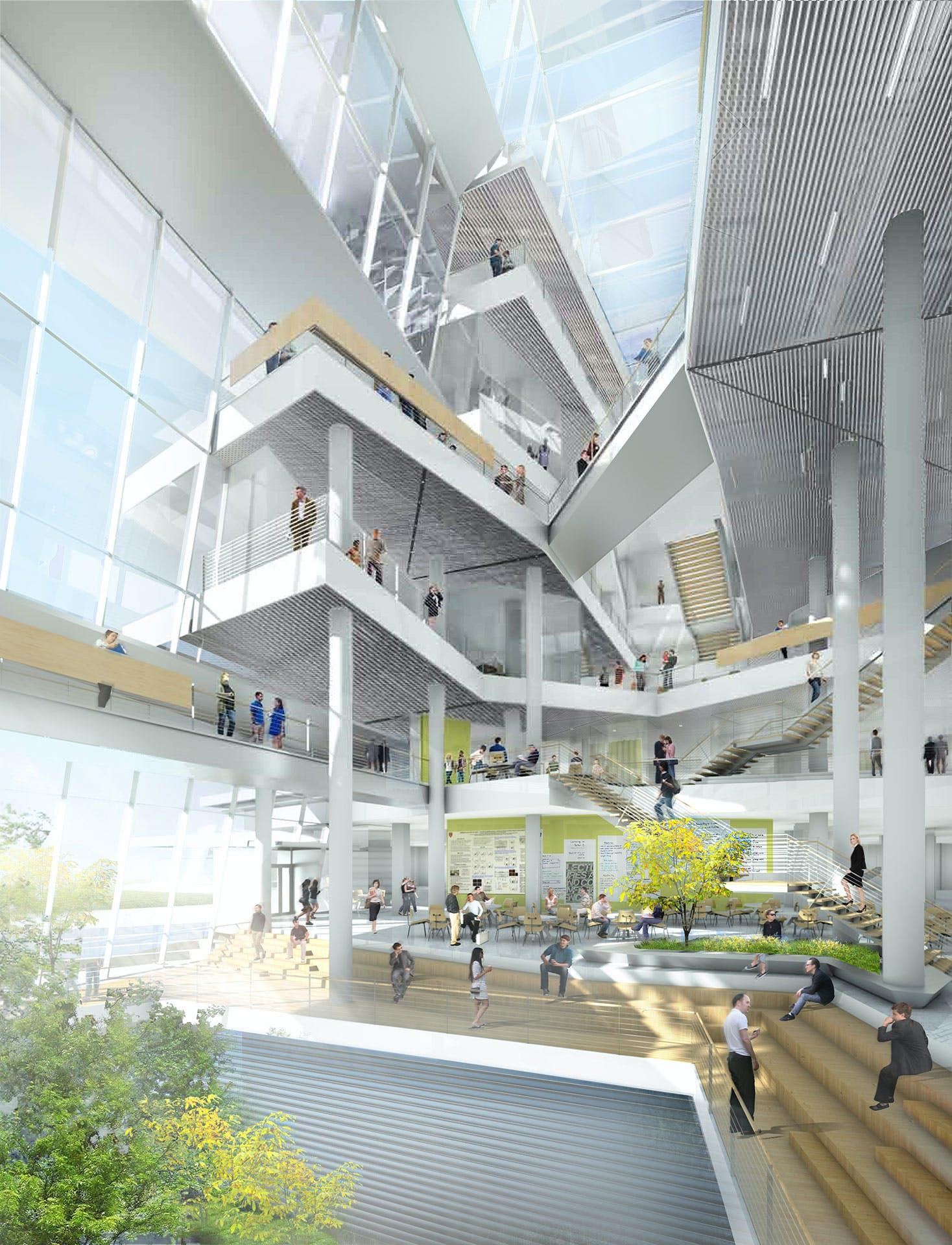 Harvard Classroom Design ~ Harvard s new behnisch designed science and engineering