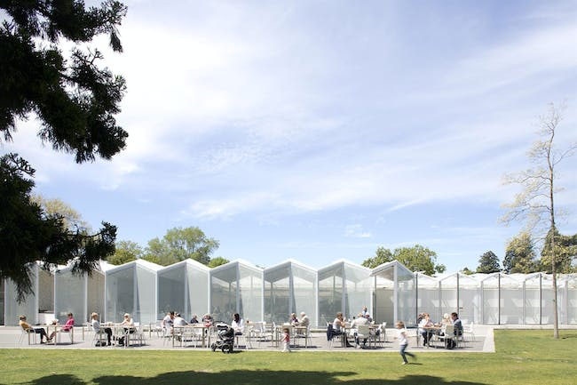 NZIA Canterbury Architecture Awards 2015 - Public Architecture award recipient: Christchurch Botanic Gardens Visitor Centre by Patterson Associates.