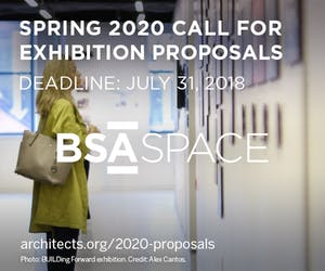 Spring 2020 Call for Exhibition Proposals at BSA Space
