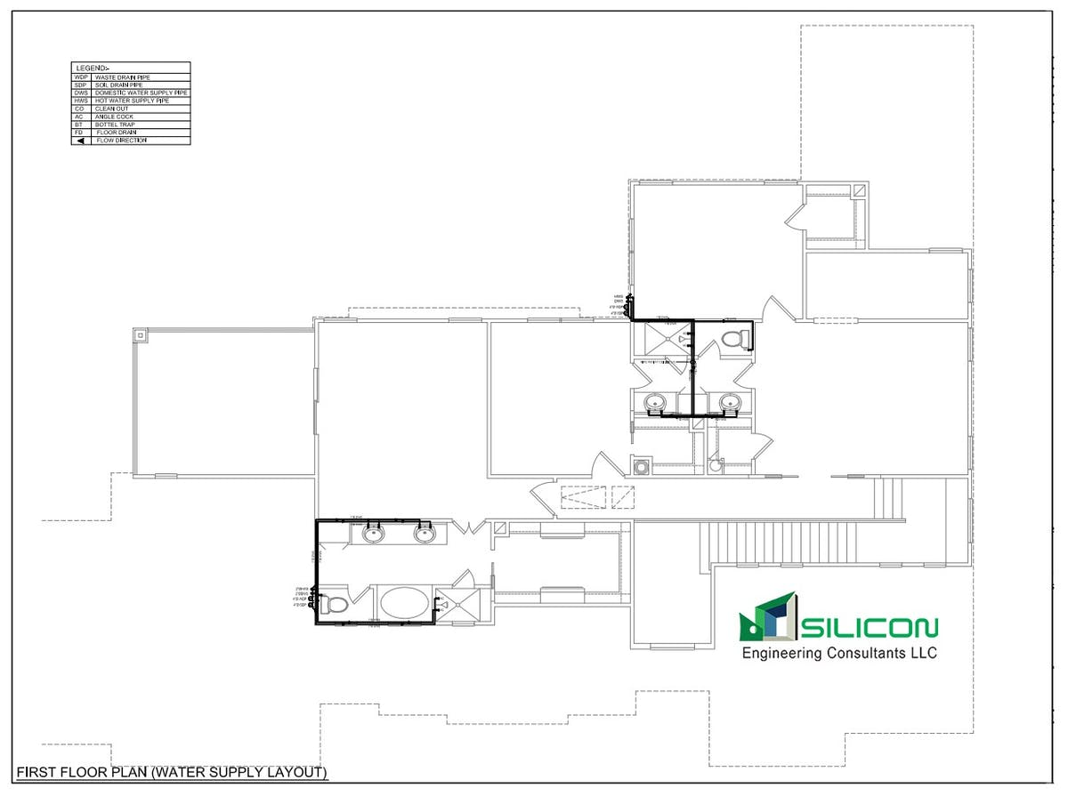 Piping Layout Consultants Wiring Library Diagram Plumbing Cost Estimation Outsourcing Work Silicon Consultant Llc Archinect