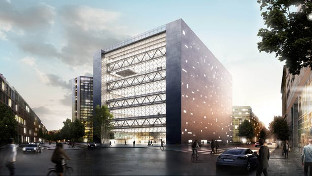 Play-Time - Axelspringer Offices in Berlin for METRO