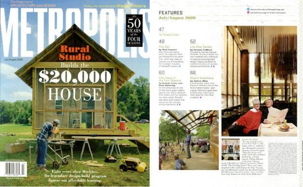 Metropolis Magazine August 2009