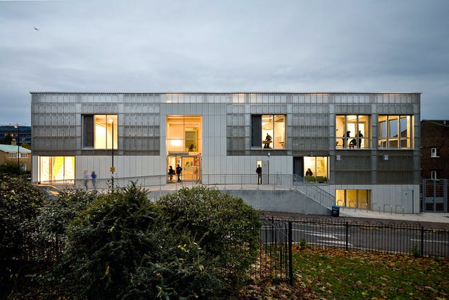London: TNG Youth and Community Centre by RCKa. Photo: Jakob Spriestersbach