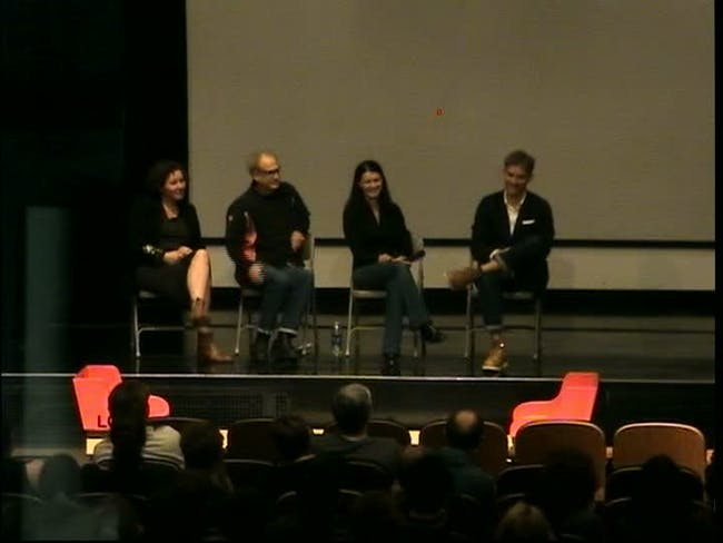 Iris Eichenberg, Randy Bolton, Heather McGill, Elliot Earls (L-R)