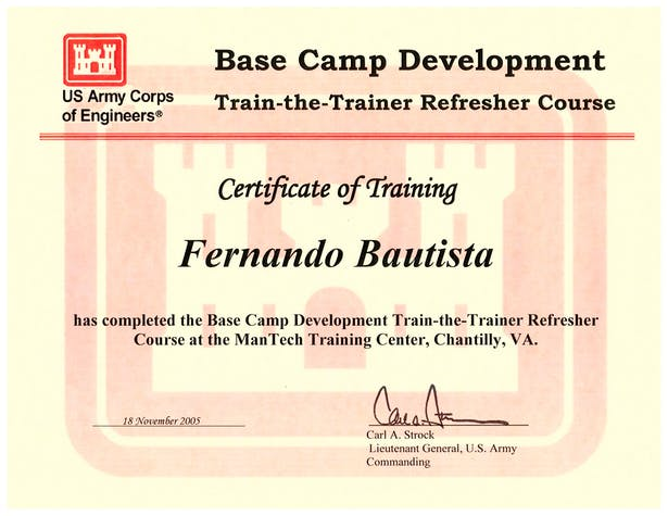 Base Camp Development.