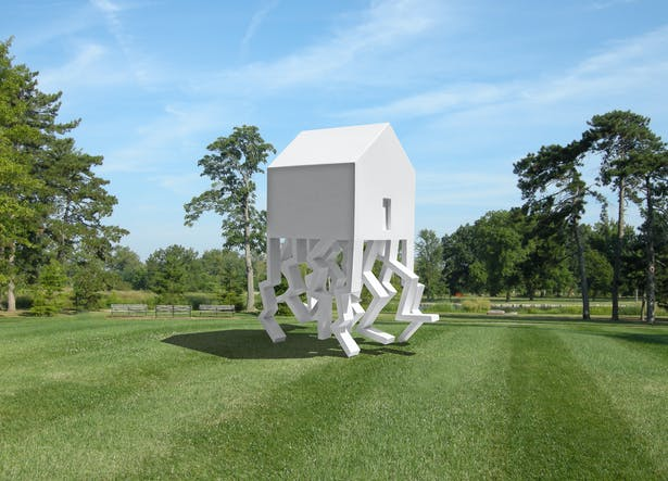 The Mobile Home (A public art installation)