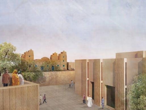 SILVER: Legacy Restored – Religious and secular complex in Dandaji, Niger by Mariam Kamara, atelier masomi, Niamey, Niger; and Yasaman Esmaili, studio chahar, Tehran, Iran
