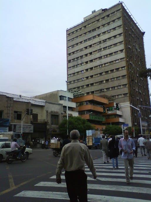 The Plasco building in Tehran. Image via wikimedia.org