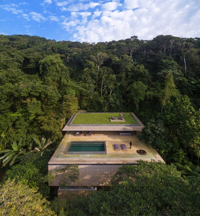 Finalist in 'Residential Architecture - Single Family:' Jungle House in Guarujá, Brazil by Studio mk27