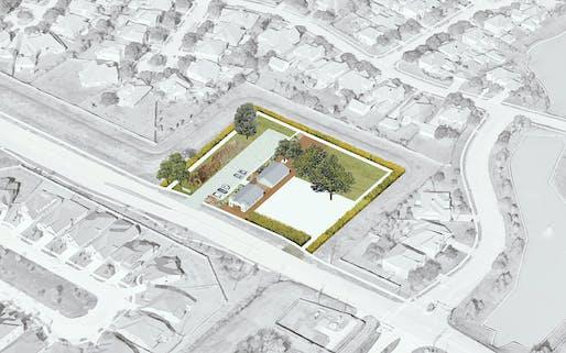 Cadaster | Church Circuit: Architectural and Site Rehabilitation of Saint John Missionary Baptist Church, Houston, USA. Credit: Cadaster.
