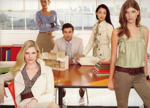 Banana Republic ad campaign from 2007. Which one will he pick??