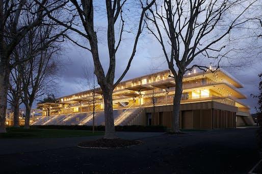 Photo © Vincent Fillon/Dominique Perrault Architecte/Adagp.