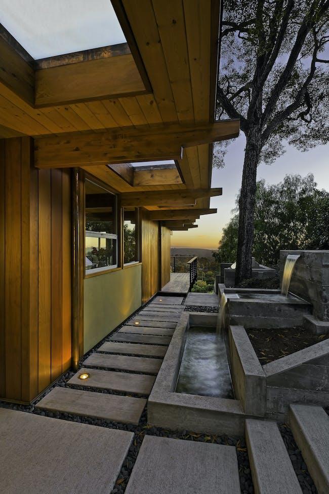 Mid-Century Modern Residence in Santa Barbara, CA by AB design studio
