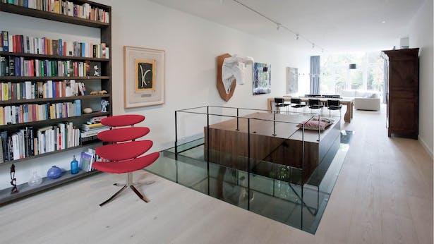 reading area - ground floor
