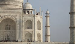 The Taj Mahal went from white to yellow and now greenish