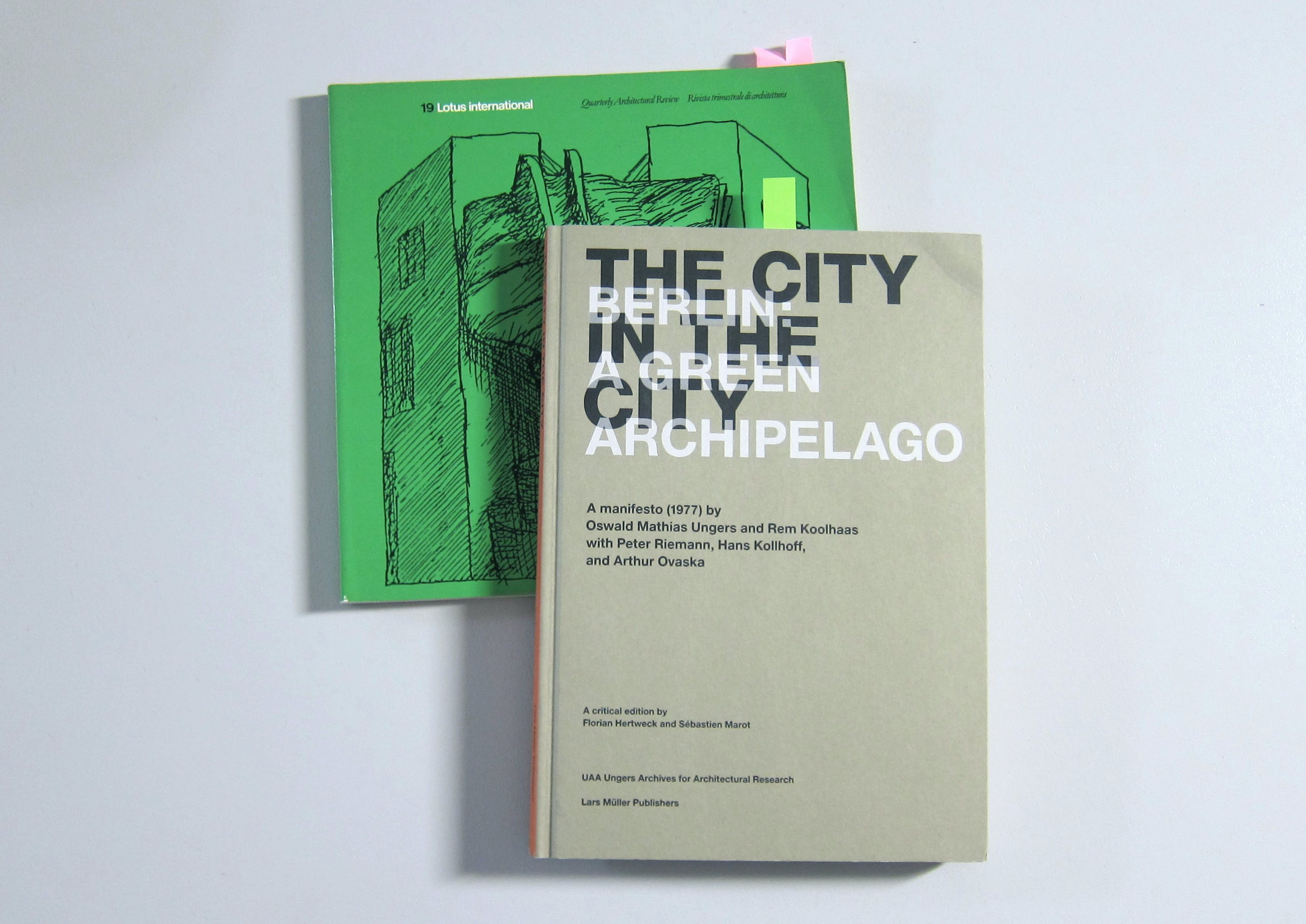"""Book Review """"The City in the City—Berlin A Green Archipelago A"""