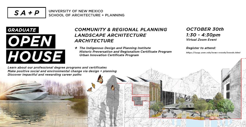 Unm School Of Architecture Planning Virtual Graduate Open House