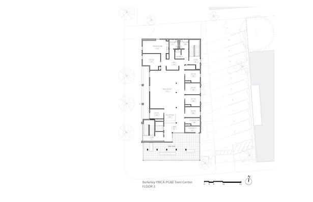 YMCA-PG&E Teen Center (Floor Plan 3)