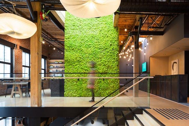 Slack Vancouver HQ by Leckie Studio Architecture + Design. Photo: Michael Leckie, Ema Peter.