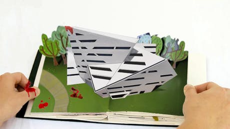 Libeskind pop-up book slices off a future architect's finger http://bit.ly/sNqbhj