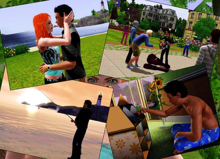 Sims 3 screenshot, via Elven*Nicky/flickr.
