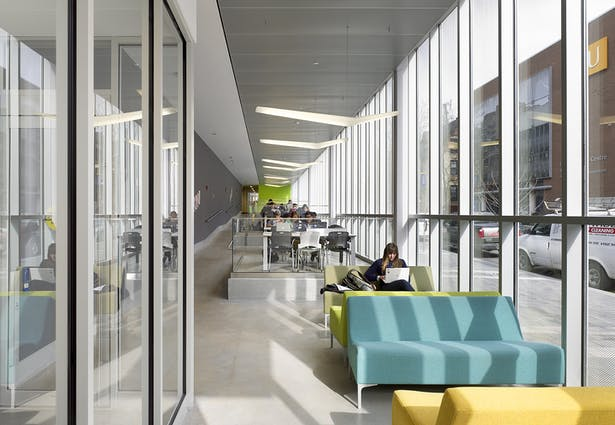Ryerson's School of Image Arts shares space with the Ryerson Image Centre