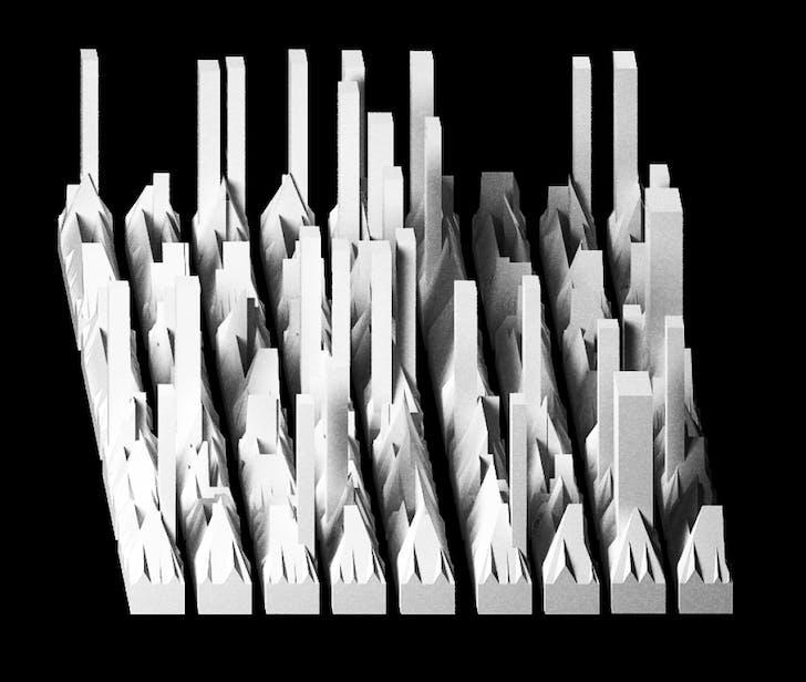 """Charles Waldheim, """"Unbuilt Manhattan,"""" 2016. Image: Charles Waldheim"""