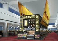 International Airport restaurant design - DCA